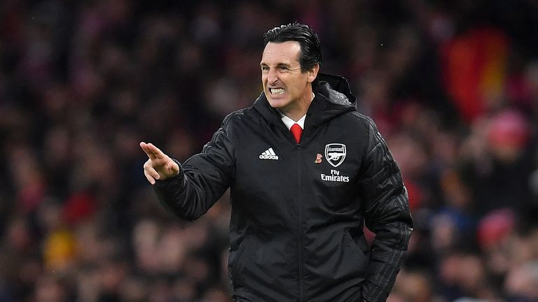Arsenal manager Unai Emery stressed the importance of balance, as his side prepare to take on Leicester on Saturday.