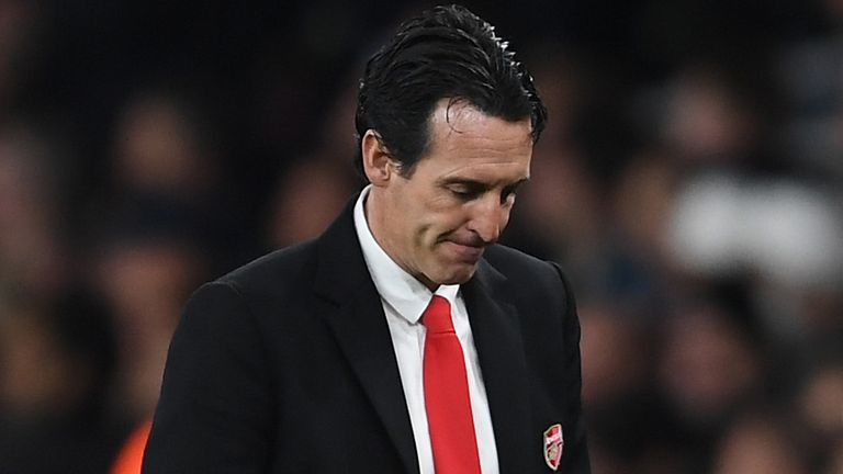 Unai Emery was sacked in November
