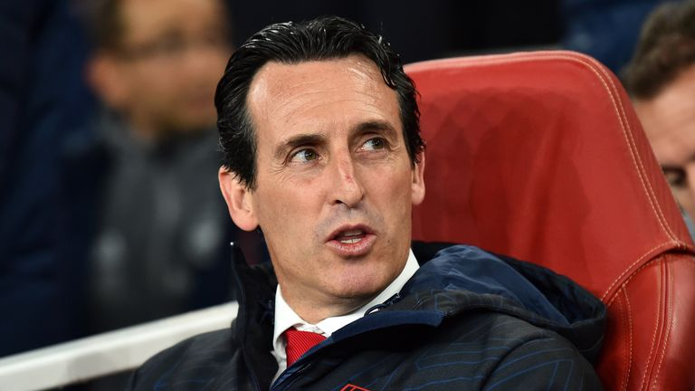 Unai Emery was sacked by Arsenal on Friday