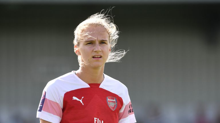 Arsenal Women's forward Vivianne Miedema has been nominated for the Ballon d'Or.