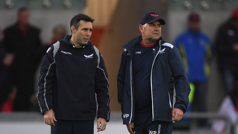 Pivac will work alongside assistant Stephen Jones, who was also part of his coaching team at Scarlets