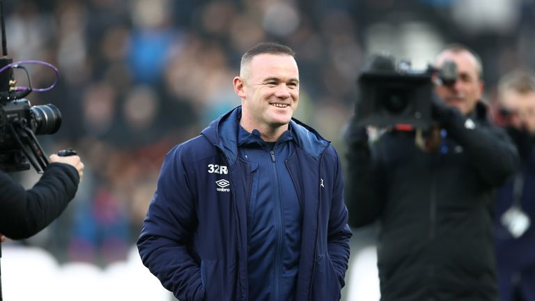 Rooney will have to remain on the sidelines until January