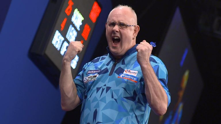 It was a breakthrough weekend for Ian White, who finally reached his first televised PDC semi-final