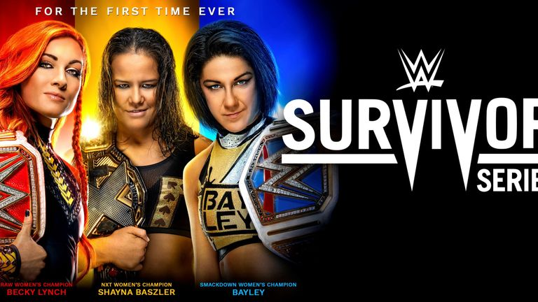 Survivor Series sees competitors from Raw, SmackDown and NXT collide for the first time in WWE history