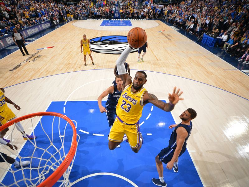 Highlights Of The Los Angeles Lakers Visit To The Dallas Mavericks In Week 2 Of The Nba Season