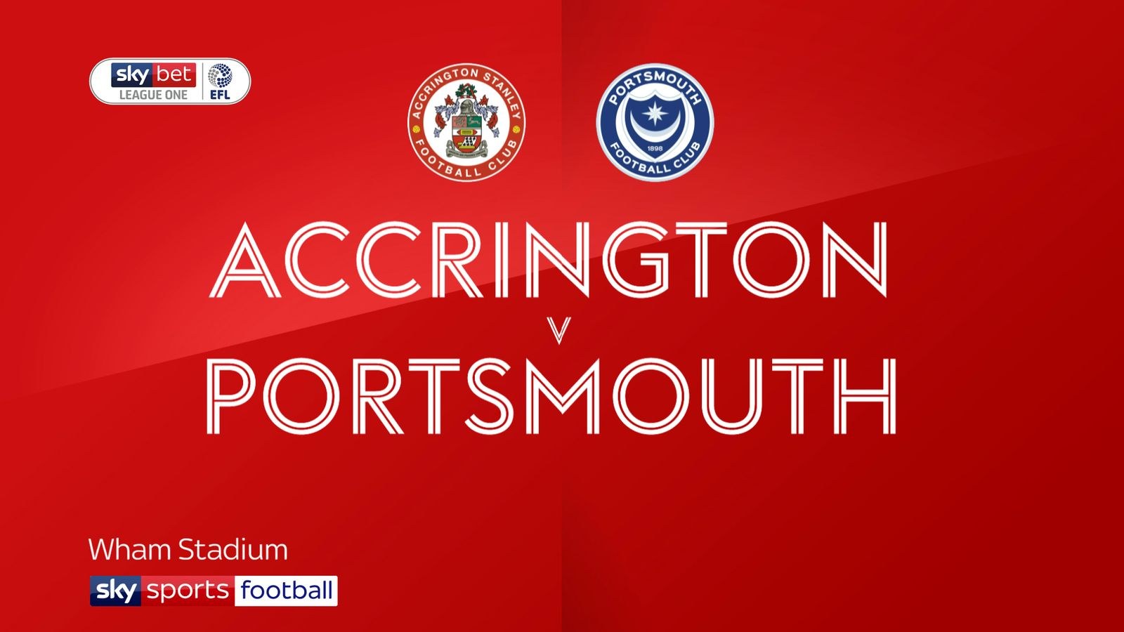 Accrington 4-1 Portsmouth: Colby Bishop brace sinks Pompey