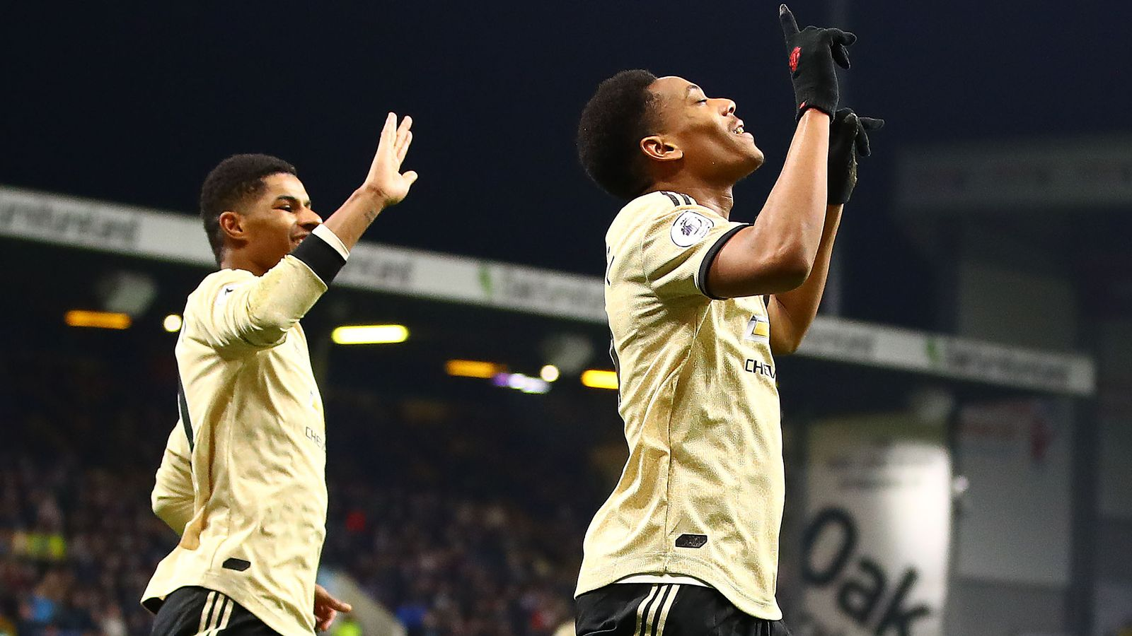 Burnley 0-2 Manchester United: Anthony Martial and Marcus Rashford send Red  Devils fifth   Football News