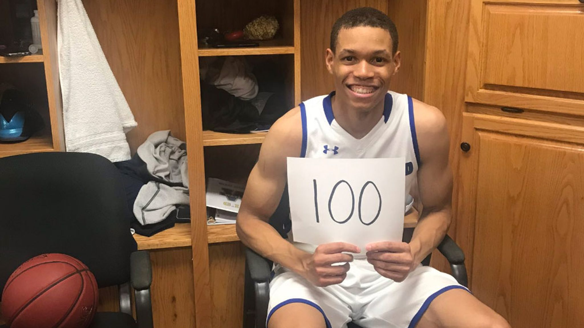 JJ Culver becomes fourth college player to score 100 points in a game