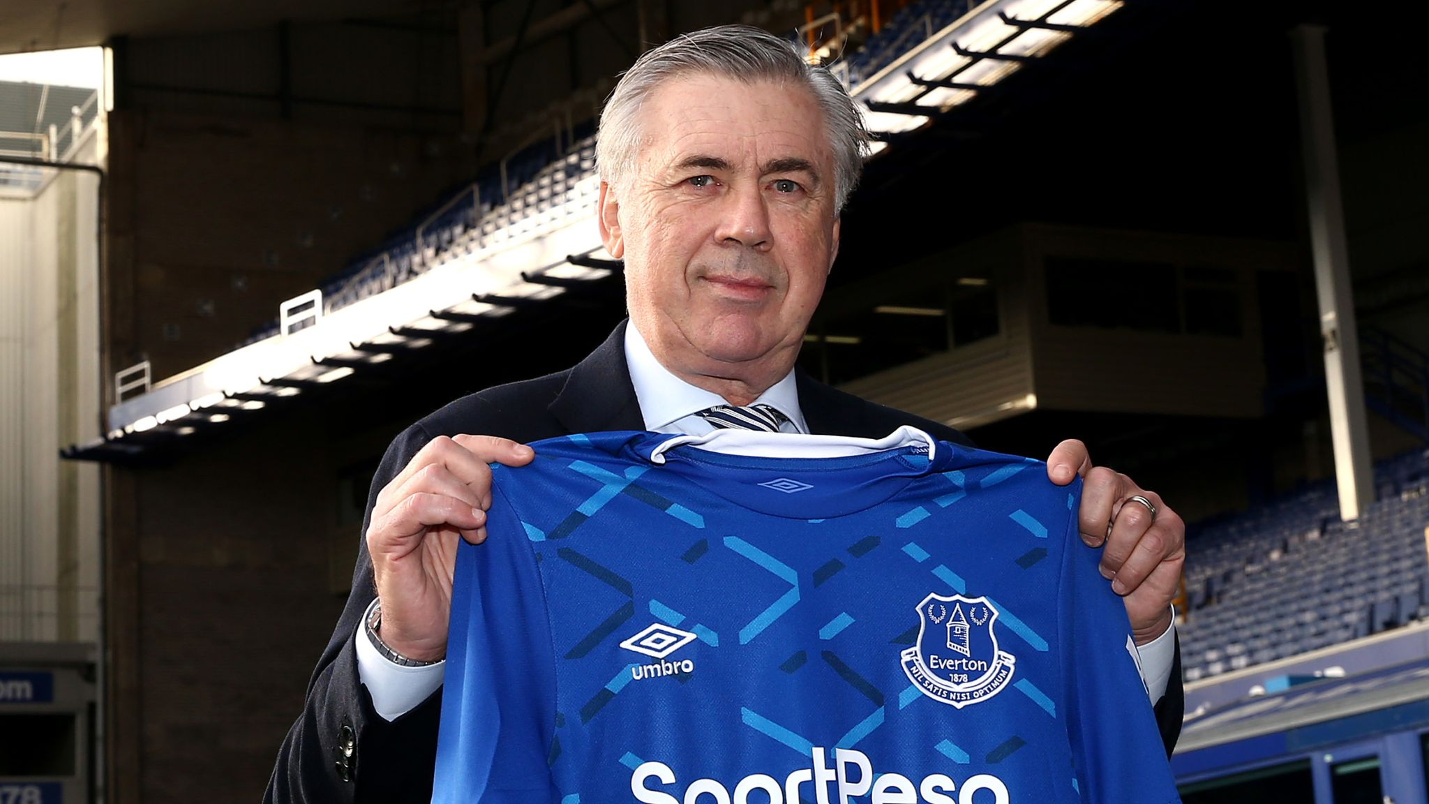 Carlo Ancelotti says 'every day is fantastic' as Everton manager but needs patience