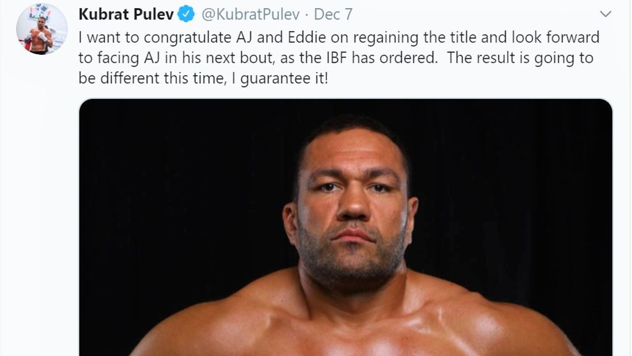 Kubrat Pulev's threat to Anthony Joshua analysed by Peter Fury