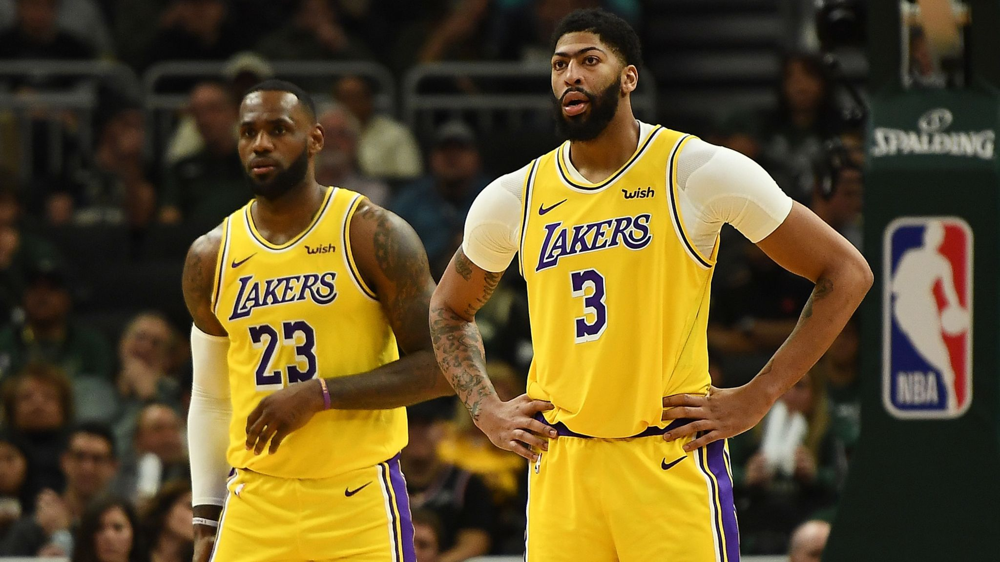 Flipboard Lebron James And Anthony Davis Questionable For