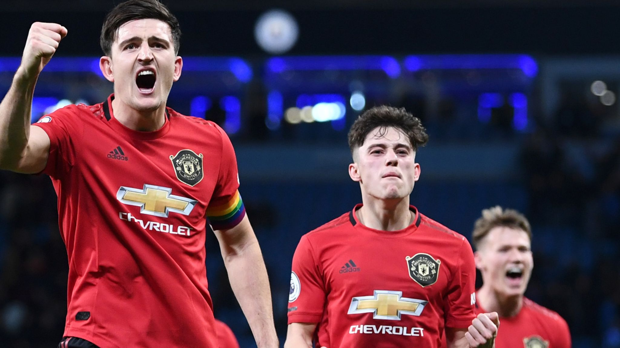 manchester city 1 2 manchester united player ratings football news sky sports manchester united player ratings