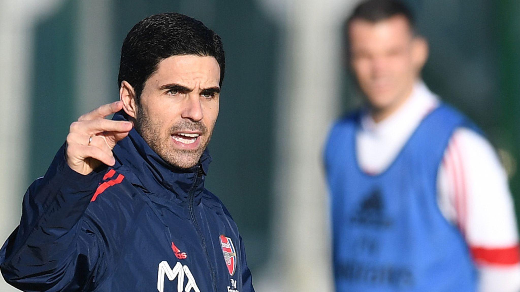 Mikel Arteta Names Arsenal Coaching Staff Football News Sky Sports