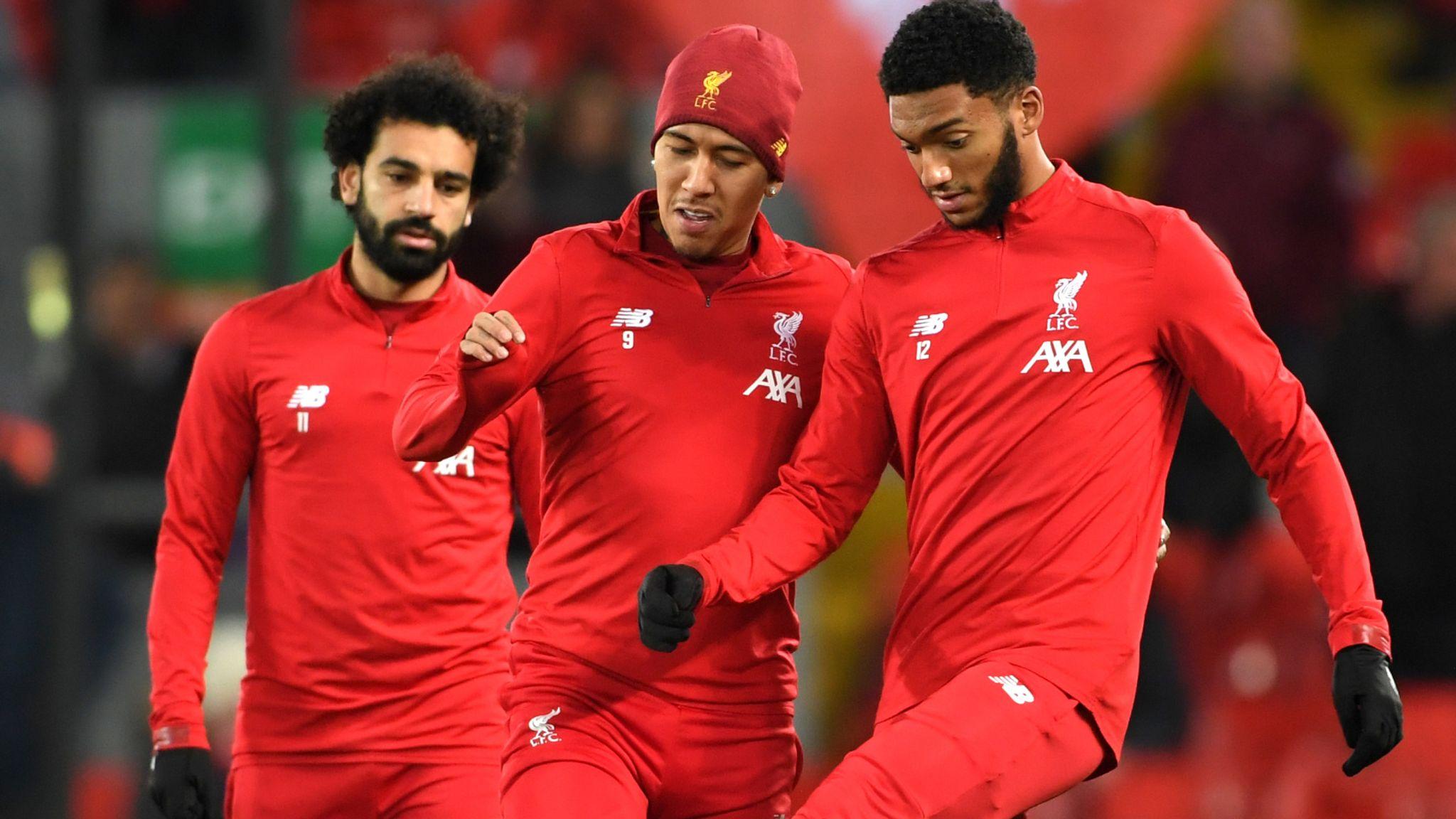 Liverpool vs Man Utd LIVE!