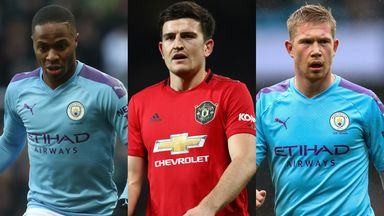 Man City-Man Utd combined XI