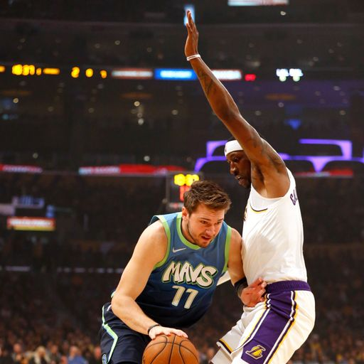Report: Doncic drives Dallas to win over Lakers