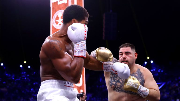 Andy Ruiz Jr fell to his 2nd professional defeat against Anthony Joshua in Saudi Arabia