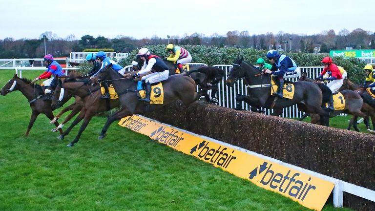 Action from Sandown