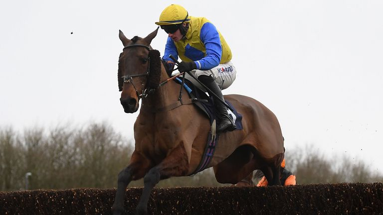 Now McGinty - on course for Chepstow feature