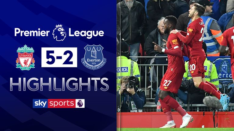 FREE TO WATCH: Highlights from Liverpool's win against Everton in the Premier League.