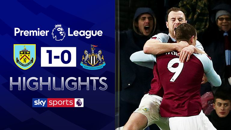 FREE TO WATCH: Highlights from Burnley's win against Newcastle in the Premier League