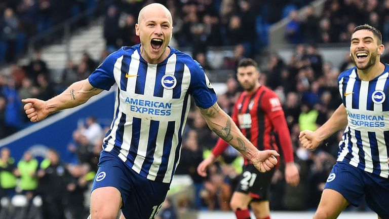 Both of Mooy's goals this season have come against Bournemouth