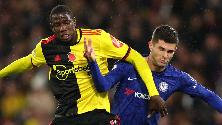 Doucoure was the subject of transfer speculation last summer