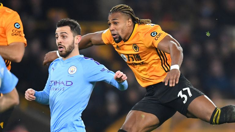 Traore sparked Wolves' comeback against Manchester City with his fourth Premier League goal of the season