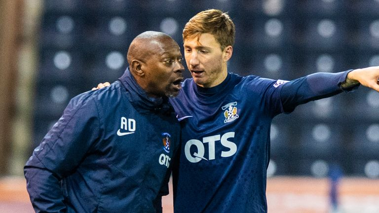 Kilmarnock Interim Head Coach Alex Dyer