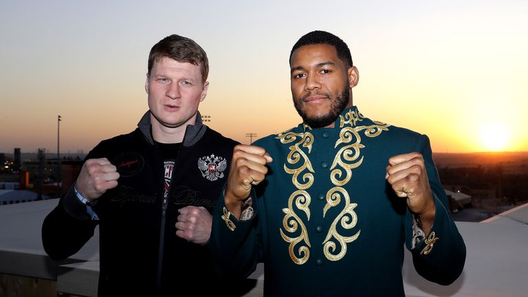Alexander Povetkin and Michael Hunter are the co-feature to Ruiz Jr-Joshua 2