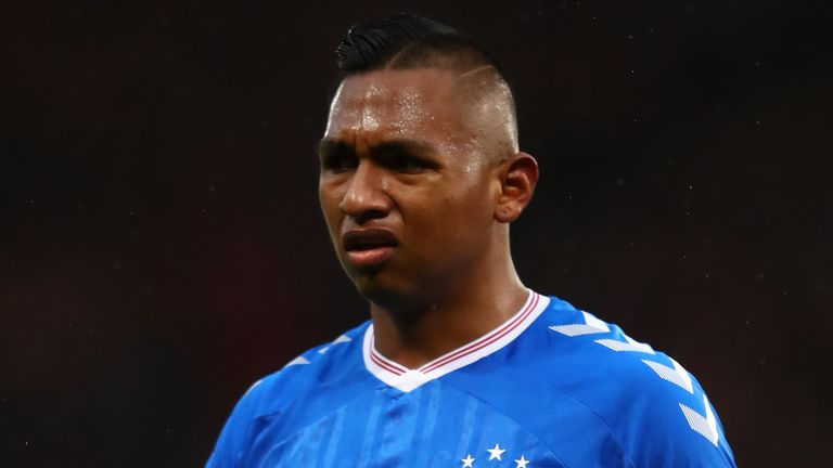 Alfredo Morelos is still waiting for his first goal against Celtic