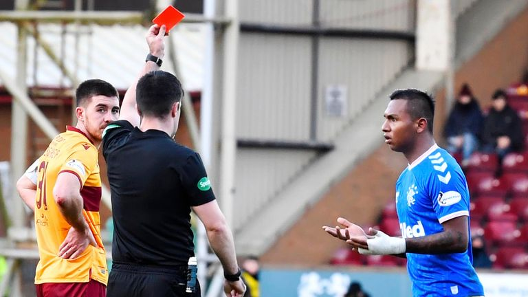 Morelos has been shown two red cards this season