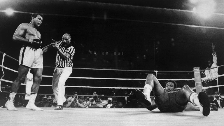 Ali beat Foreman in the Rumble in the Jungle