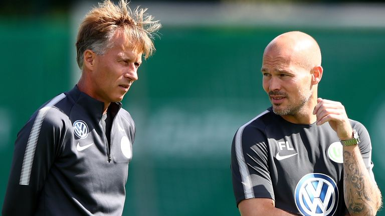 Ljungberg followed Jonker to Wolfsburg  as his assistant manager in 2017