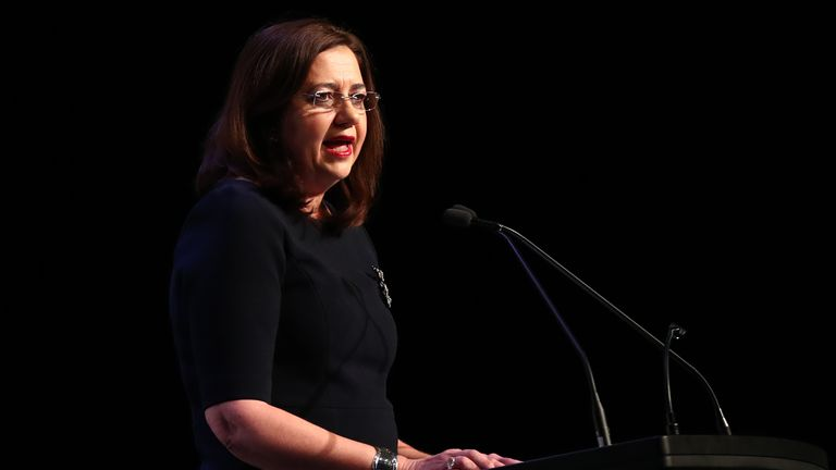 Queensland state premier Annastacia Palaszczuk is hoping to secure support for the bid from central government