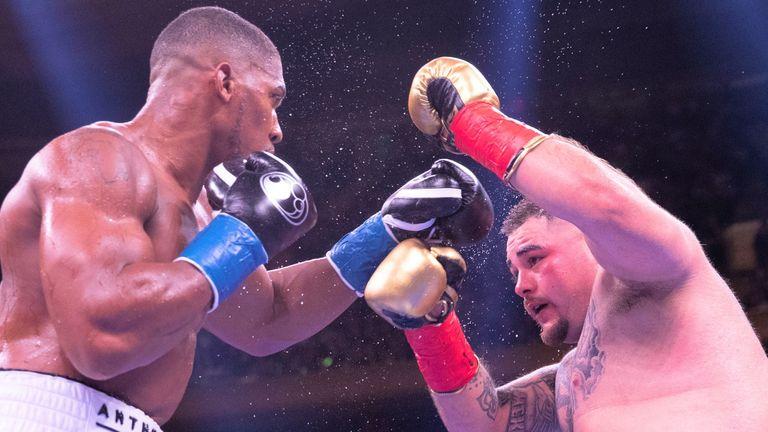 Anthony Joshua battles Andy Ruiz Jr again in Saturday's rematch