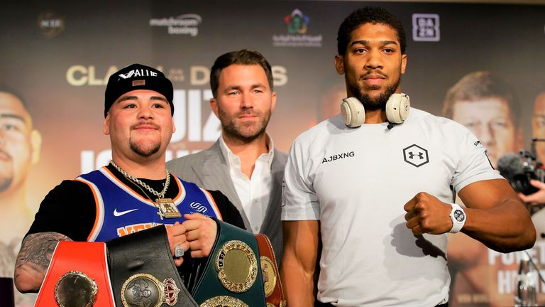 The WBO belt could be vacated after Andy Ruiz Jr's rematch with Anthony Joshua