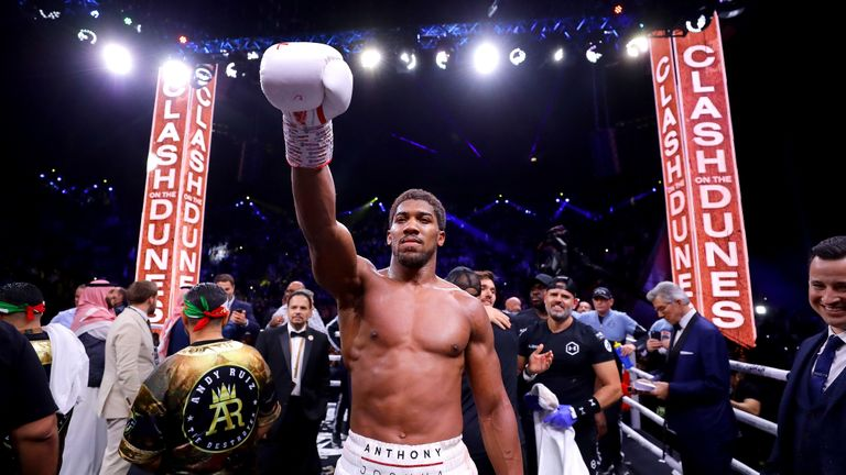 Anthony Joshua beats Andy Ruiz Jr in Saudi Arabia on Saturday