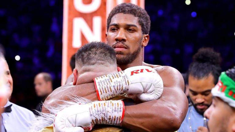 Anthony Joshua says he is open to a third fight with Andy Ruiz Jr