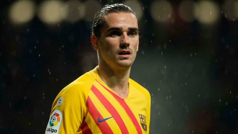 Antoine Griezmann came up against his former side for the first time since sealing a £108m move to Barcelona
