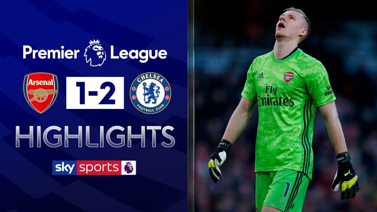 Arsenal v Chelsea highlights
