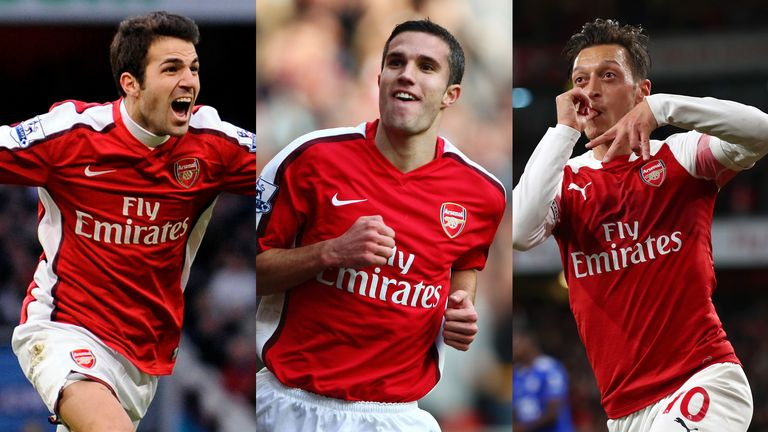 Arsenal team of the decacde