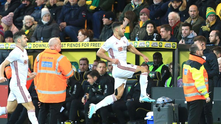 George Baldock's superb second half strike secured the three points for the Blades
