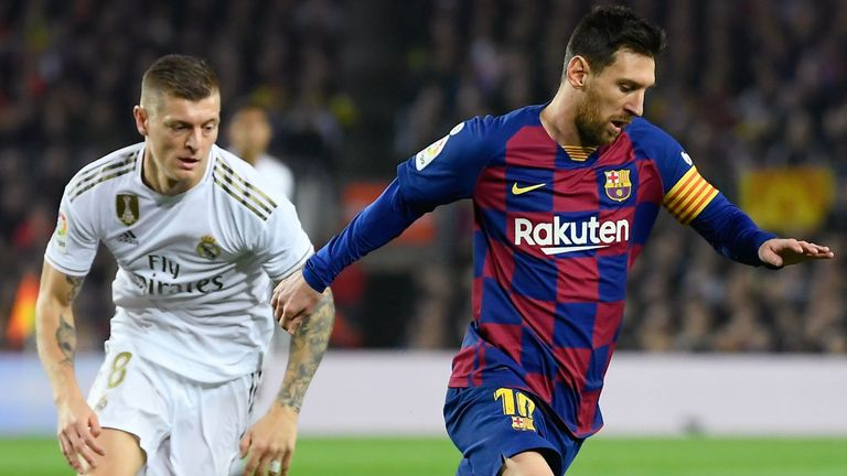 Barcelona vs Real Madrid - Nou Camp