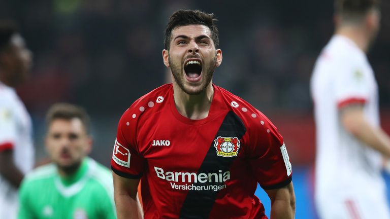 Kevin Volland has just 18 months left on his Bayer Leverkusen contract, having signed from Hoffenheim in 2016