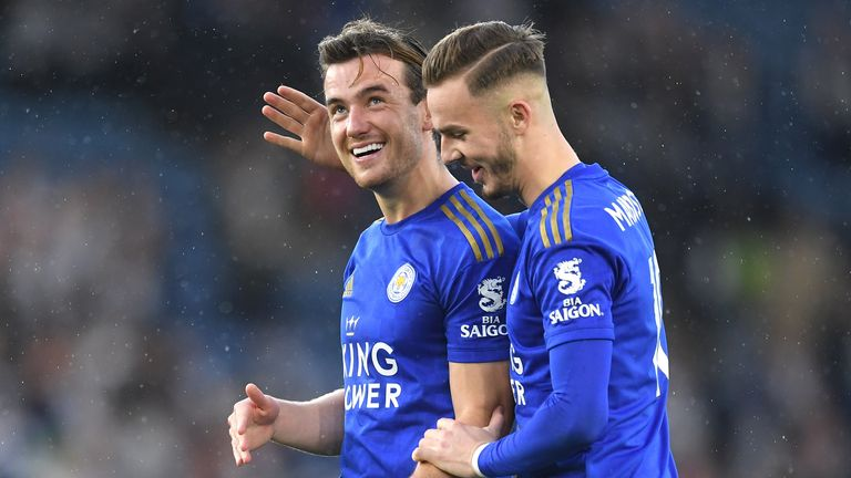 Ben Chilwell and James Maddison have both been part of the senior England team in 2019
