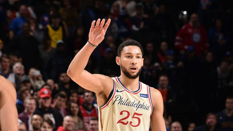 Ben Simmons notched 15 points, 13 assists, six rebounds and four steals in a win against Indiana on Saturday