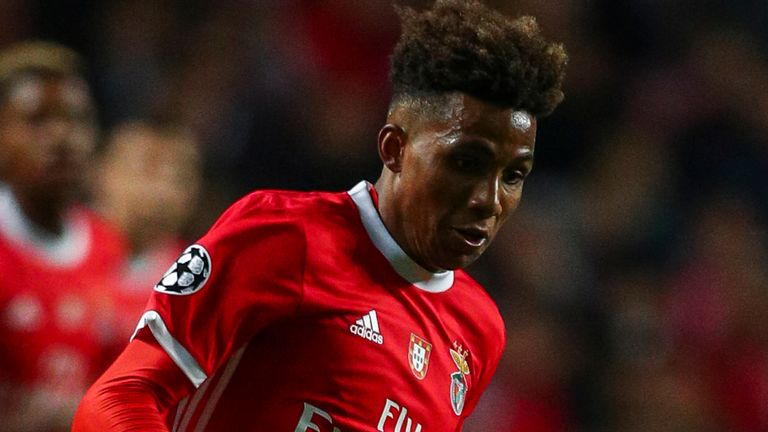 Gedson Fernandes hasn't featured in Benfica's last seven games and is thought to have fallen out of favour