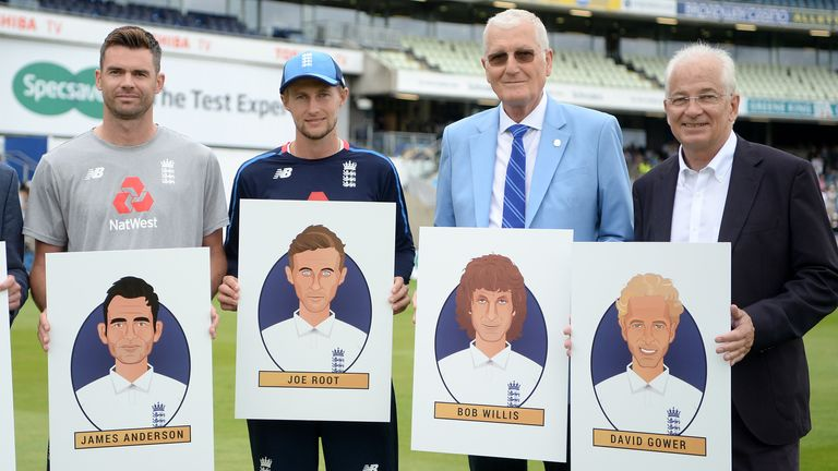 Bob joins James Anderson, Joe Root and David Gower after being named in England's greatest Test XI