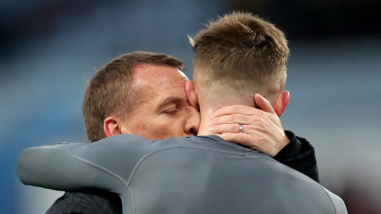Brendan Rodgers is refusing to let go of any of his Leicester stars in January